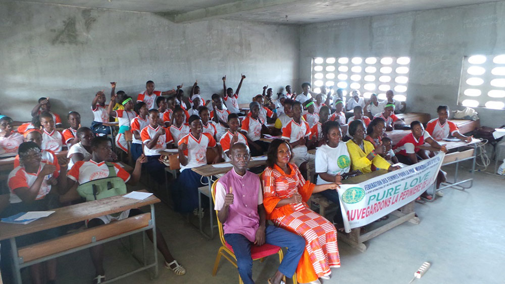 Cote d'ivoire: Character Education Program
