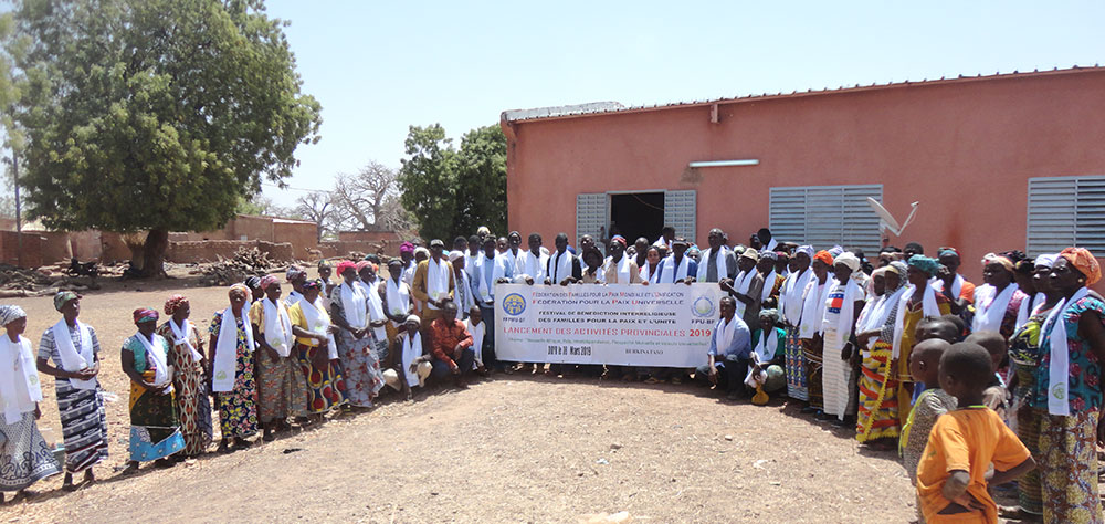 Burkina Faso: Heavenly Tribal Messiah Workshop and Blessing